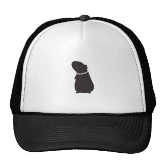 Classy Cavy Piggie and Pearls Hat