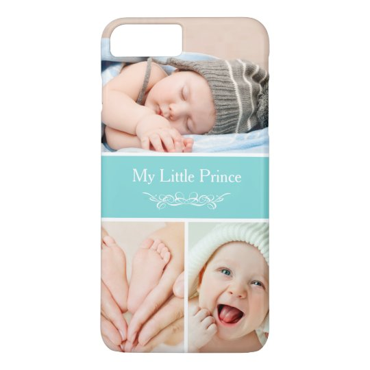 Classy Chic Baby Kids Photo Collage iPhone 7