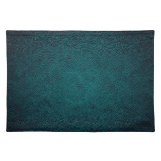 Classy chic elegant leather look place mats