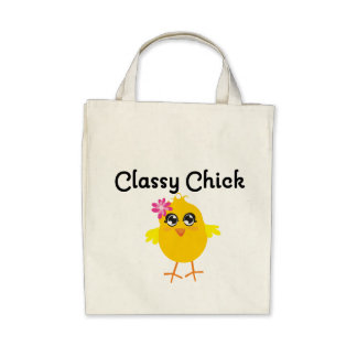 Classy Chick Tote Bags