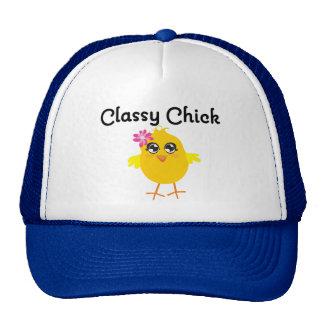 Classy Chick Trucker Hats