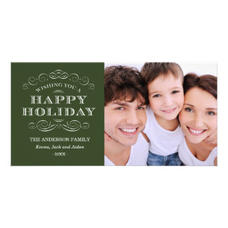 CLASSY CHRISTMAS | HOLIDAY PHOTO CARD