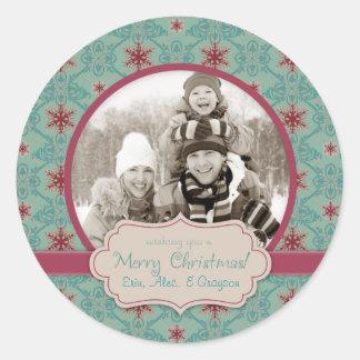 Classy Christmas Photo Sticker 2