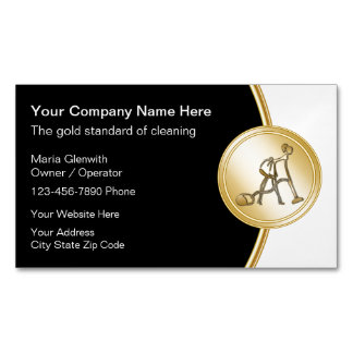 Classy Cleaning Business Card Magnets Magnetic Business Cards