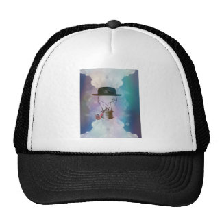 Classy diner jacket Lightbulb Trucker Hat