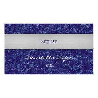 Classy Elegant Professional Blue Business Card