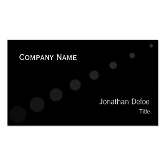 Classy Elegant | Professional Pack Of Standard Business Cards