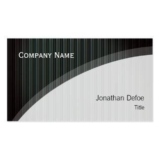 Classy Elegant Professional Pack Of Standard Business Cards