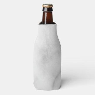 Classy Elegant White Marble Pattern Bottle Cooler