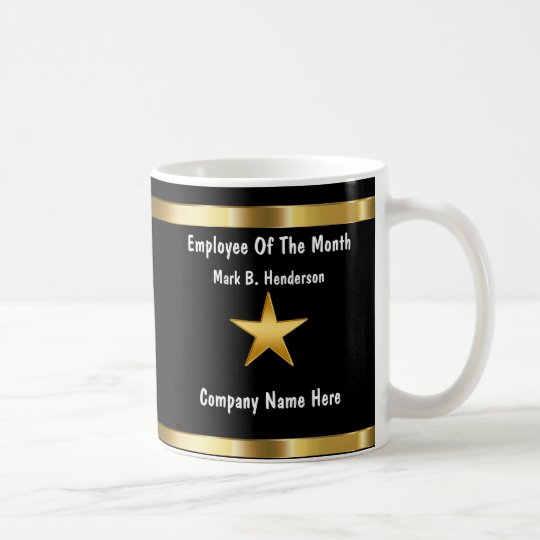Classy Employee Of The Month Coffee Mug