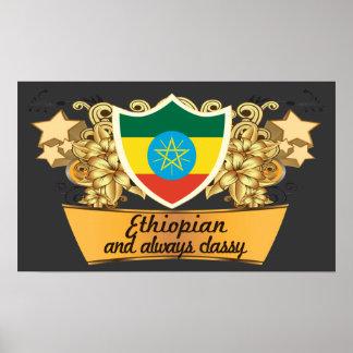Classy Ethiopian Poster