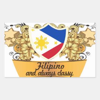 Classy Filipino Sticker