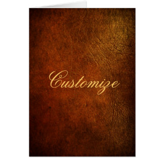 Classy Genuine Leather Designer Card