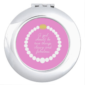 Classy Girl Compact Mirror