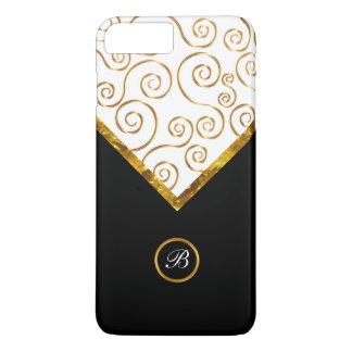 Classy Gold Colored Pattern iPhone 8 Plus/7 Plus Case