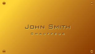 Gold plated business cards business card printing zazzle uk classy gold plated chauffeur business card colourmoves