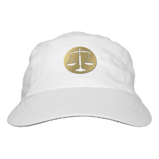Classy Golden Scales of Justice Hat