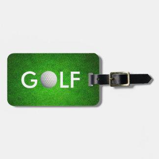 Classy Golf Luggage Tag