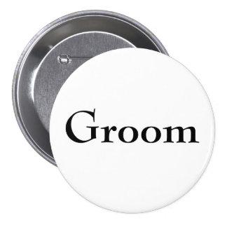 Classy Groom Button