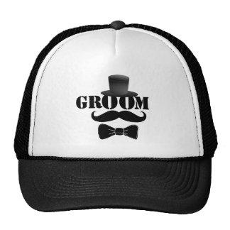 Classy Groom Cap