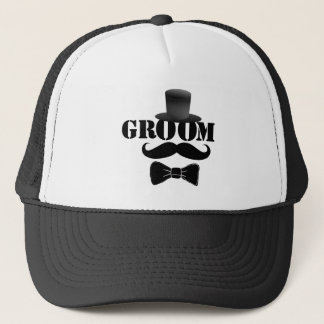 Classy Groom Trucker Hat