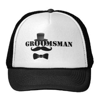 Classy Groomsman Cap