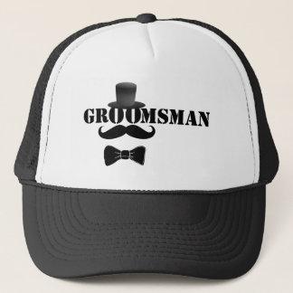 Classy Groomsman Trucker Hat