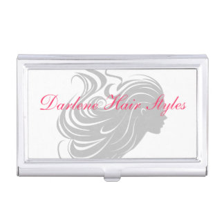Classy Hairdresser Style Business Card Holder