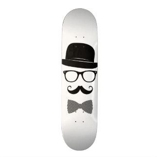 Classy hipster custom skateboard