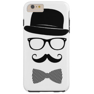 Classy hipster tough iPhone 6 plus case