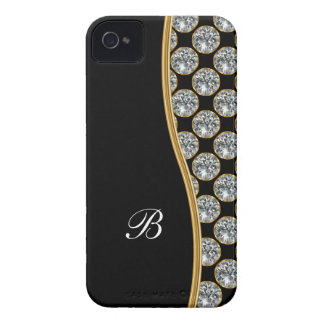 Classy iPhone 4 Case Monogram Style