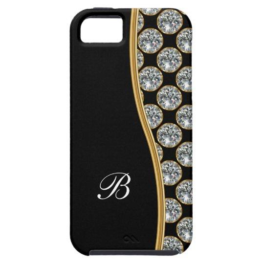 Classy iPhone 5 Case Monogram Style