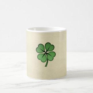 Classy Irish Lucky Shamrock Coffee Mug