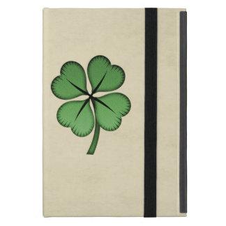 Classy Irish Lucky Shamrock iPad Mini Cover