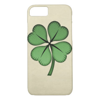 Classy Irish Lucky Shamrock iPhone 7 Case