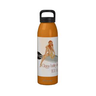 Classy ladies love drinking bottles