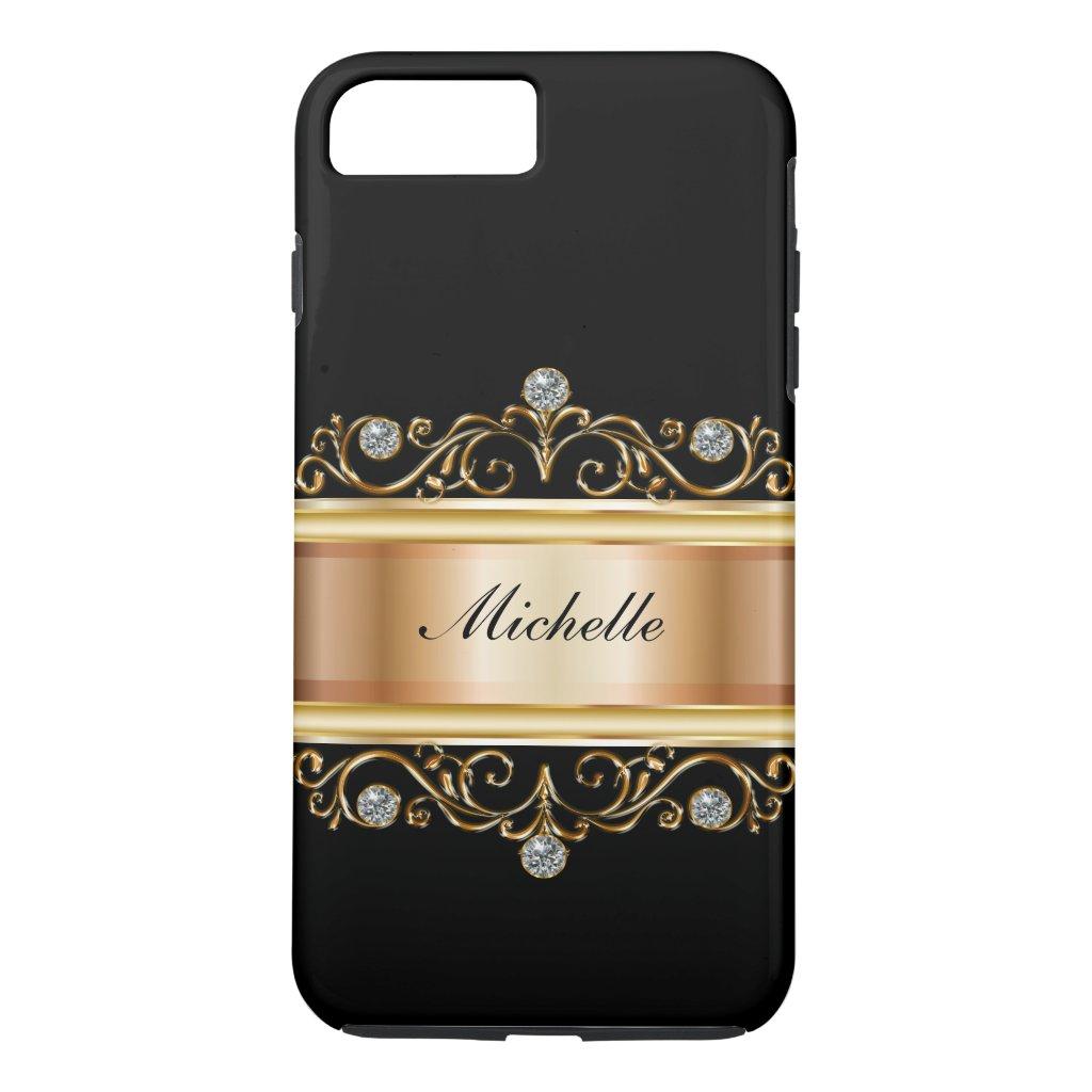 Classy Ladies Monogram Bling Case-Mate iPhone Case