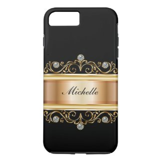 Classy Ladies Monogram Bling Case-Mate iPhone Case
