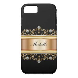 Classy Ladies Monogram Bling iPhone 8/7 Case