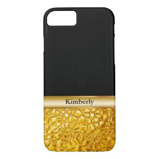 Classy Luxury Gold Look iPhone 8/7 Case