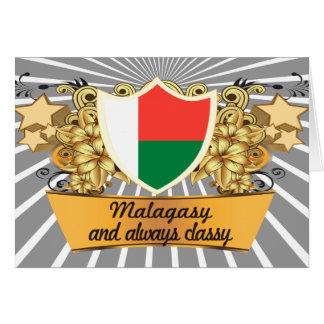 Classy Malagasy Greeting Card