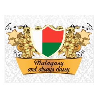 Classy Malagasy Postcard