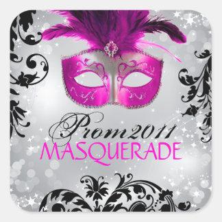 Classy Masquerade Sticker
