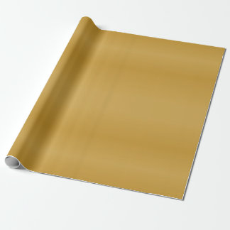 Classy Metallic Gold Wrapping Paper