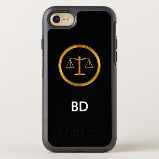 Classy Monogram Attorney OtterBox Symmetry iPhone 8/7 Case