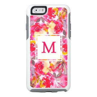 Classy Monogram Floral Otterbox iPhone 6/6s Case