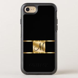 Classy Monogram Name Initial Design OtterBox Symmetry iPhone 8/7 Case