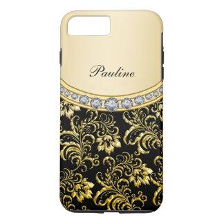 Classy Monogram Style iPhone 7 Plus Case