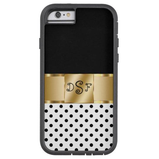 Classy Monogram Style Tough Xtreme iPhone 6 Case