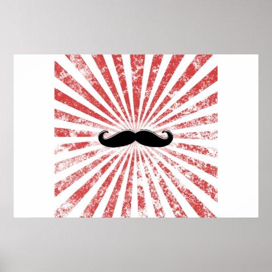 Classy Moustache Poster